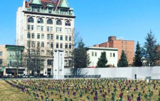 2019 Pinwheels on Lackawanna County Courthouse Square